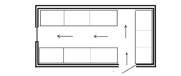 схема помещения под курятник