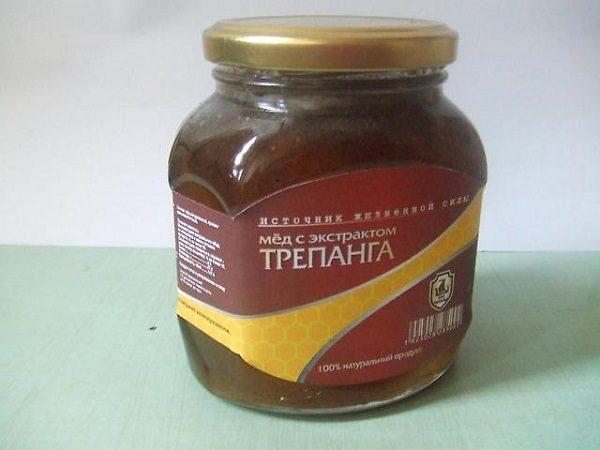 Мед с экстрактом трепанга