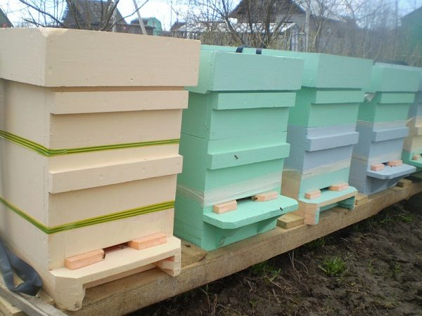 Ульи для пчел из пенопласта