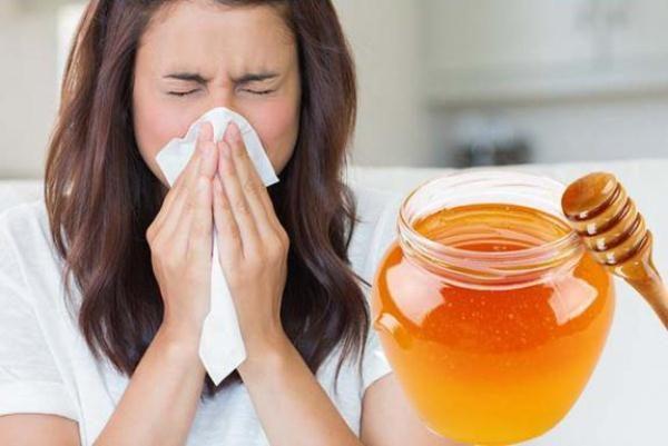 Употребление мёда при простуде