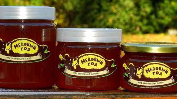 Дягилевый мед фасованный в стеклянную посуду