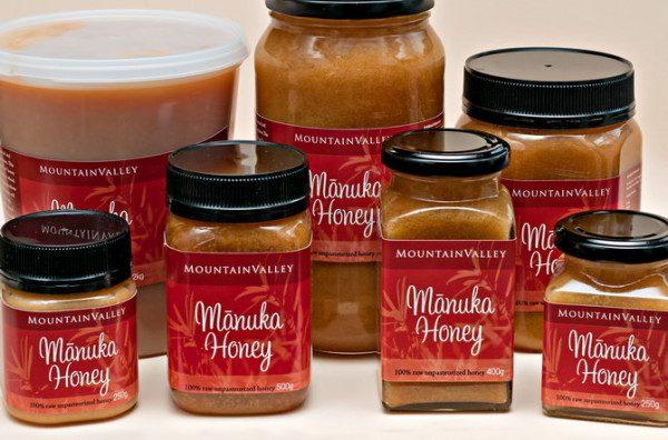 Фасованный мёд мануки