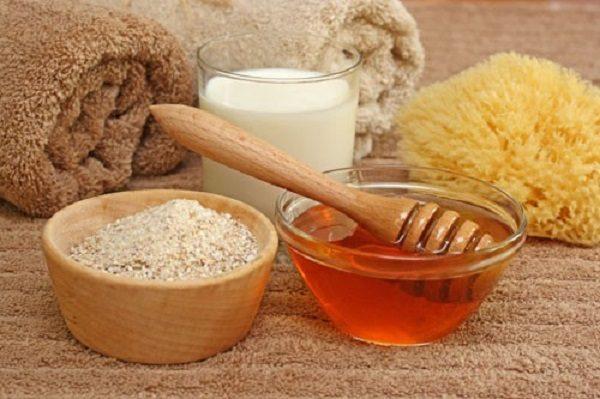 Ингредиенты для приготовления медовой маски