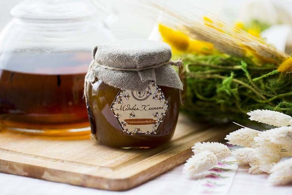 Натуральный каштановый мед