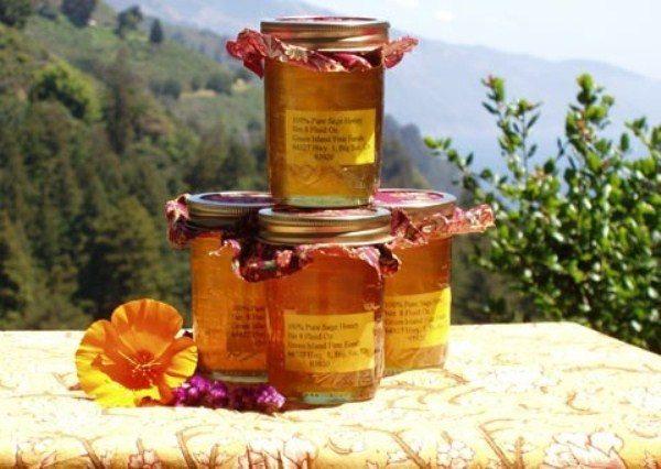 Фасованный горный мёд в стеклянных банках