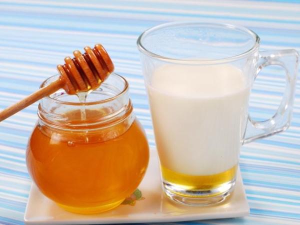 мед и кефир, питательная маска для волос