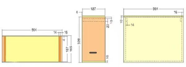 Схема блоков для роевни