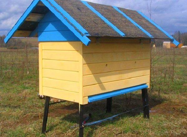 Как сделать улей для пчел своими руками