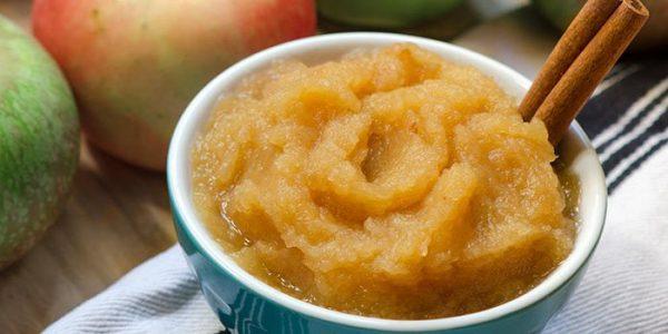 Яблочное пюре для заморозки