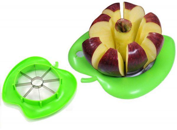 Использование специальной яблокорезки