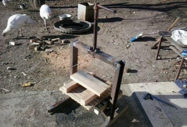 Деревянная дренажная решетка пресса для яблок