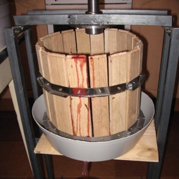 Пресс для яблок: процесс изготовления своими руками, фото и видео