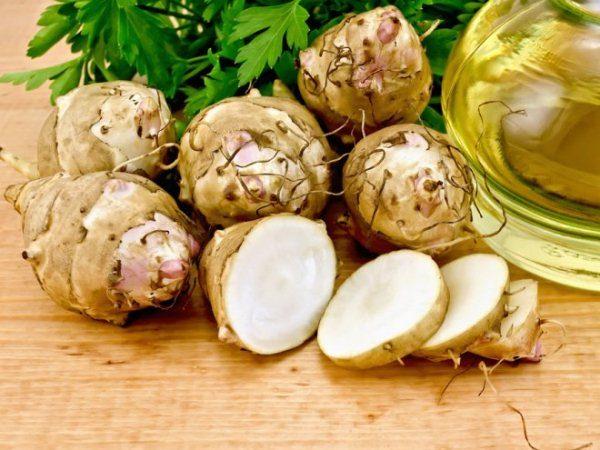 Земляная груша считается лечебной диетической пищей
