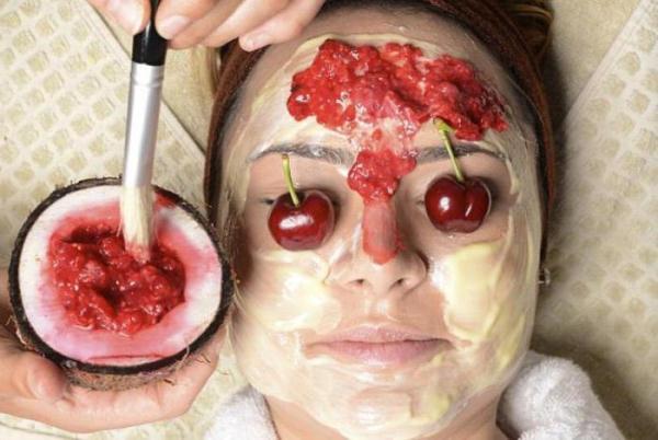 Вишня нашла широкое применение в косметологии