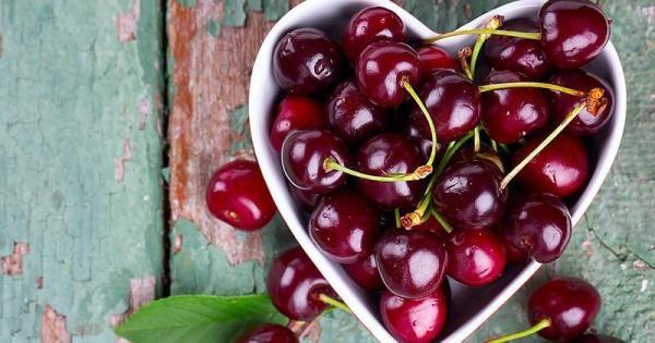 Вишню называют сердечной ягодой