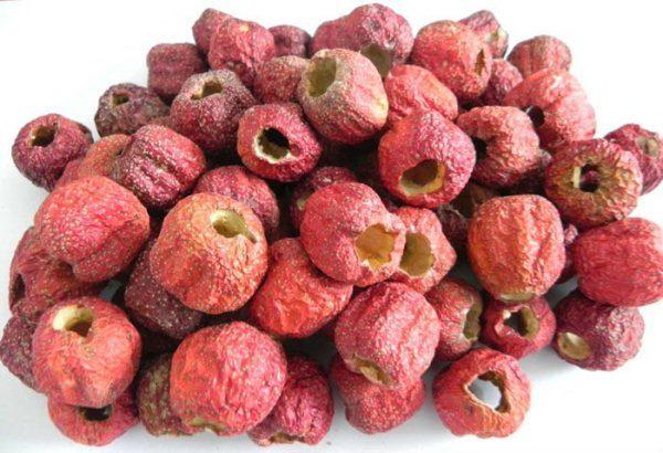 Замороженные ягоды боярышника без косточки