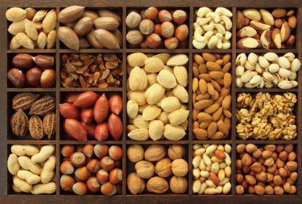 Орехи прекрасно утоляют чувство голода