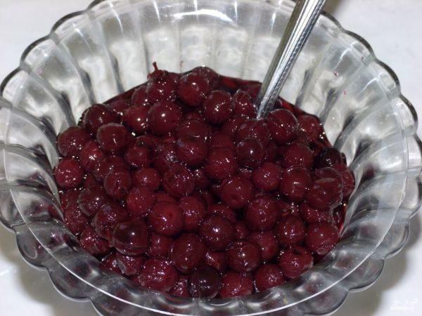 Варенье из плодов красной черемухи