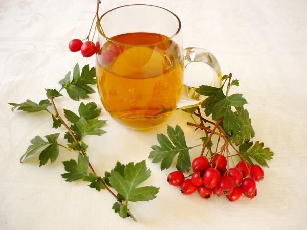 Пейте чай из боярышника через 2 часа после приёма пищи, на голодный желудок его применять не рекомендуется