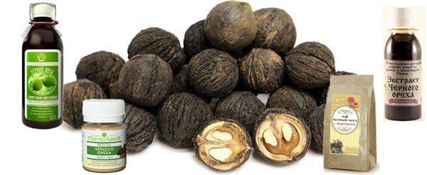 Препараты из черного ореха