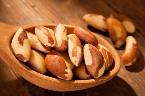 Очищенные ядра бразильского ореха
