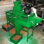 Машина для дробления шишки кедрового ореха
