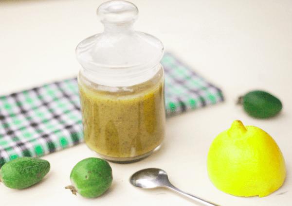 Из фейхоа можно сварить варенье - с лимоном или орехами