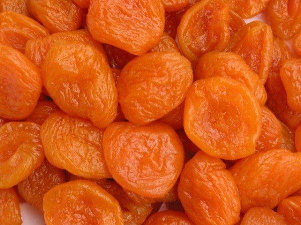 Сушеные абрикосы без косточек или курага