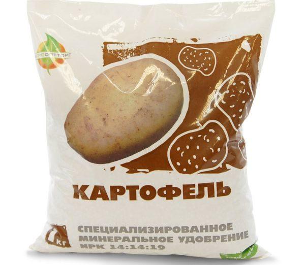 Минеральное удобрение для картофеля