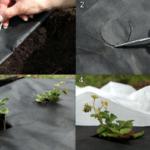Круглые отверстия не должны быть большого размера, чтобы ограничить сорняки