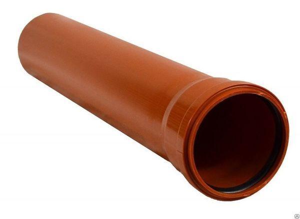 Лучше всего подойдут трубы диаметром 100-150мм