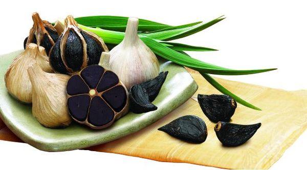 Маринованный черный чеснок - полностью готов к употреблению