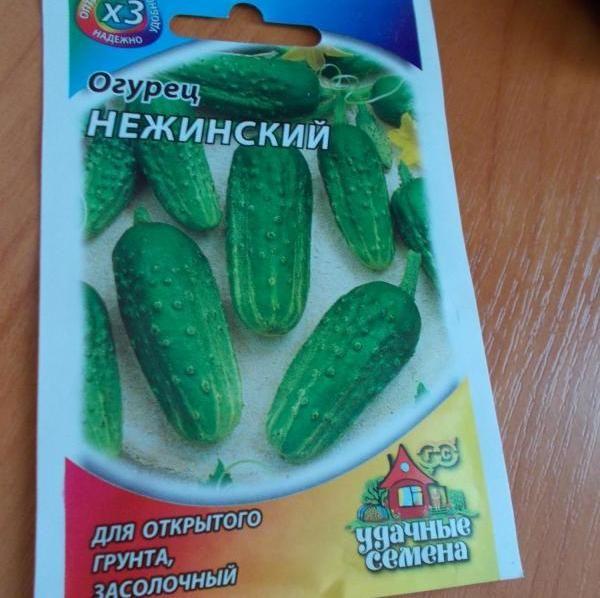 Семена огурцов сорта Нежинский