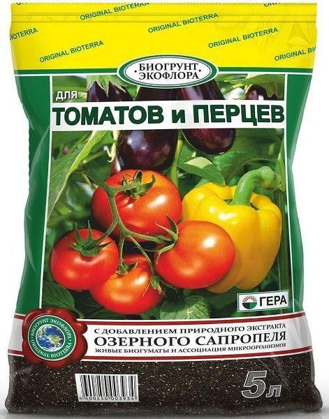 Питательный почвогрунт для томатов