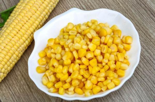 Кукуруза в зёрнах