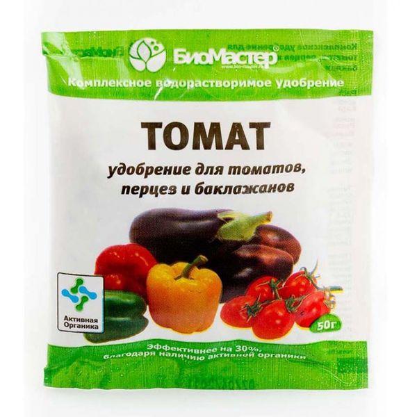 В качестве подкормки можно использовать комплексное удобрение для томатов