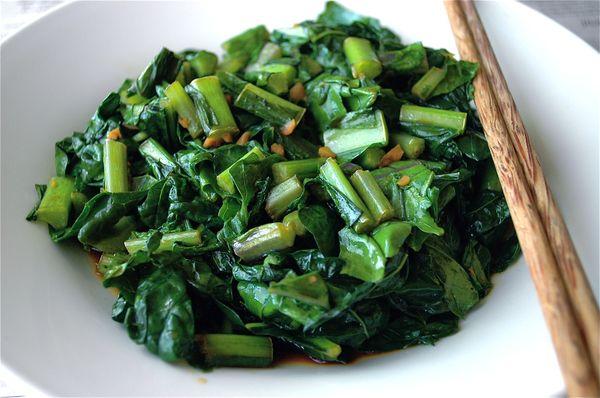 Салат из капусты Кейл