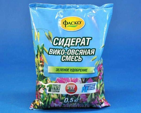 Готовая сидеративная смесь растений