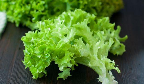 Калорийность листьев латука - не более 15 ккал на 100 грамм