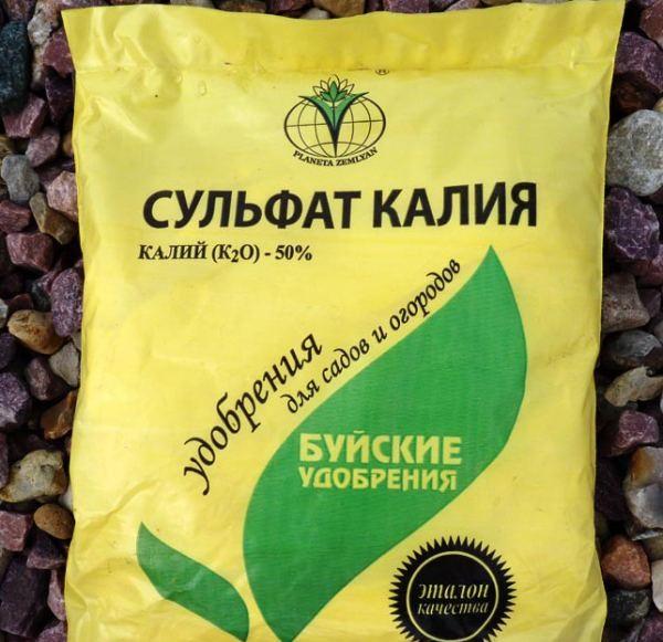 Сульфат калия - подкормка для томатов