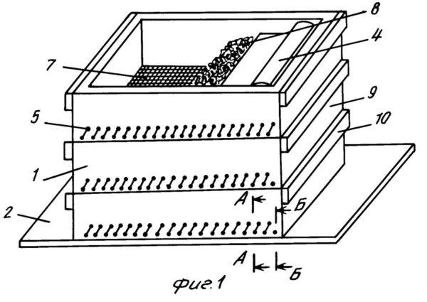Схема ящика для червей