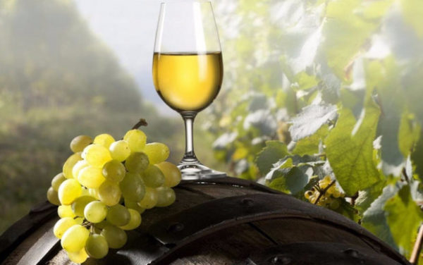 Вино из винограда шардоне