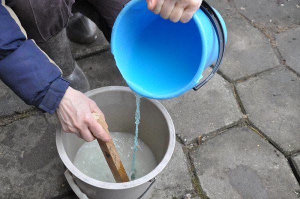 Приготовление раствора монофосфата калия
