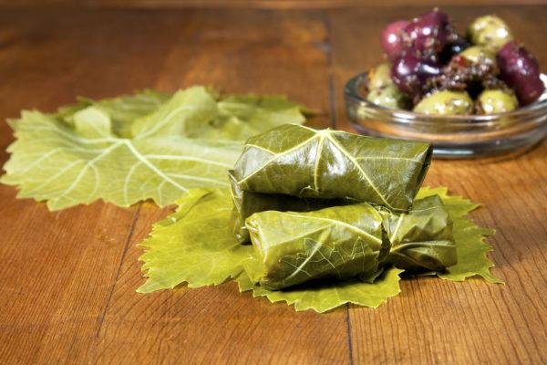 Виноградные листья для долмы