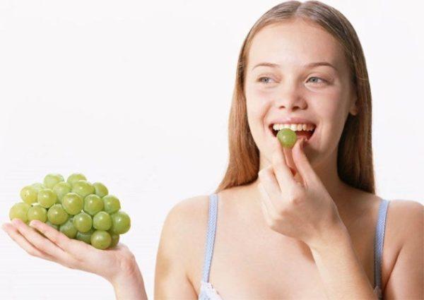 Чрезмерное употребление винограда может вызвать нежелательны побочные действия