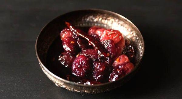 Рецепт соуса из винограда