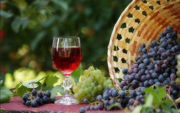 Для приготовление винной закваски подойдет виноград любого сорта