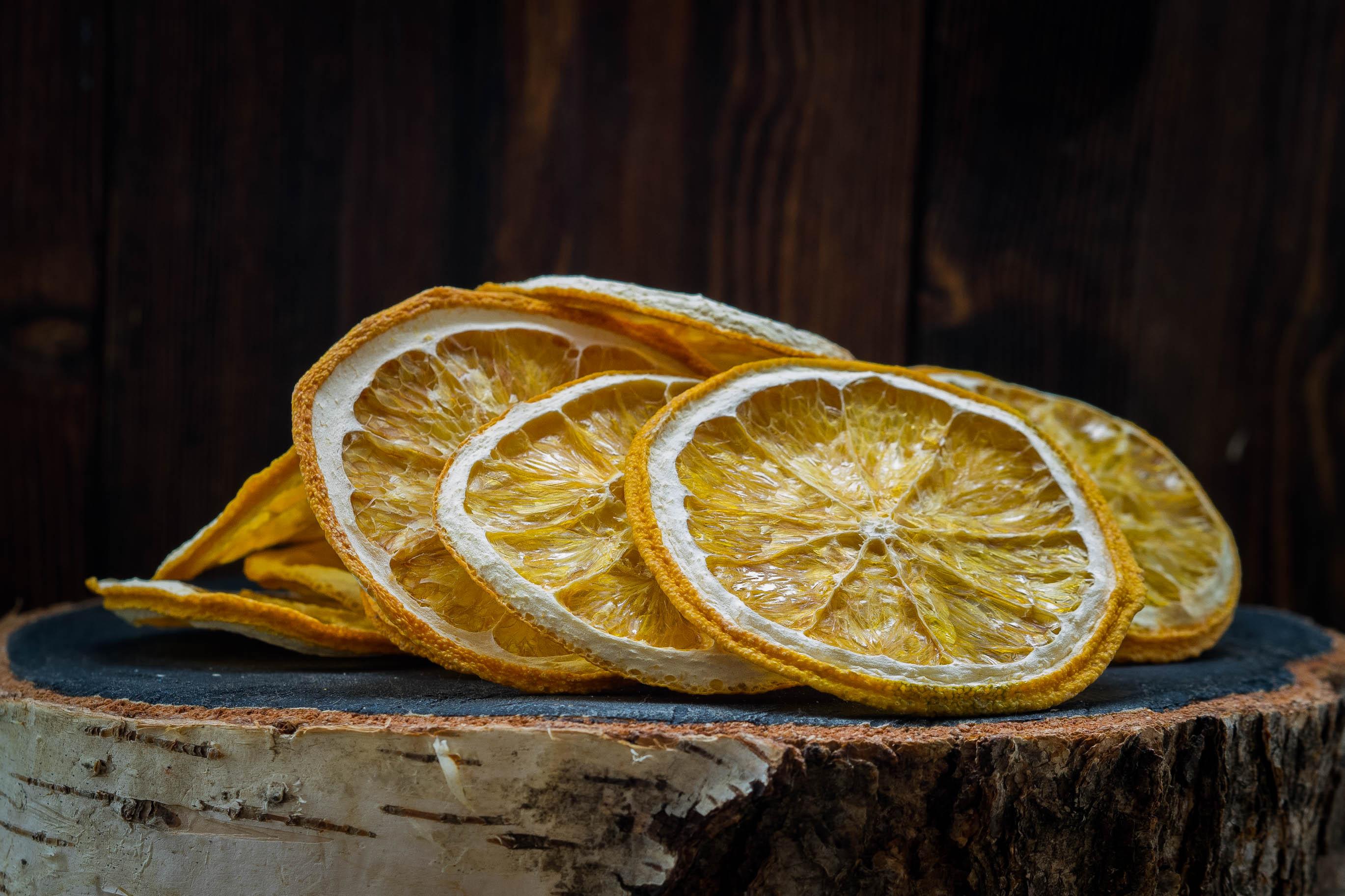 Сушка лимона в духовке