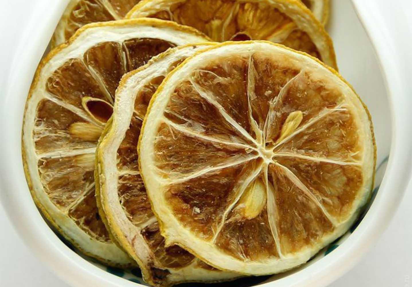 Сушка лимона