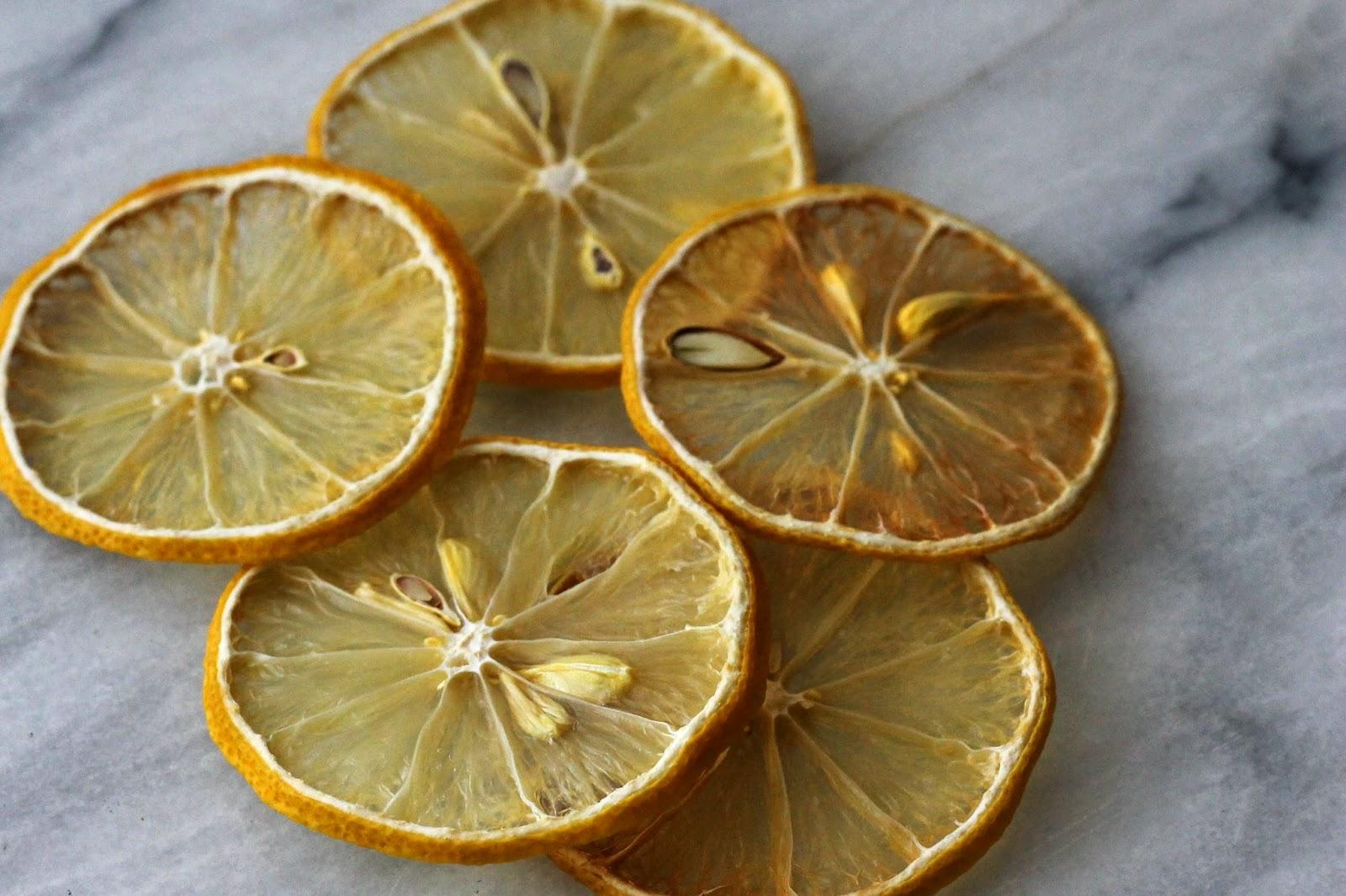 Сушка лимона на солнце